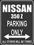Parkplatz - Parking Only - Nissan 350 Z - Parkplatzschild