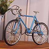 shunlidas Home Deko Dekoration Schlafzimmer Figurinehandgemachtes Fahrrad Lebensechtes Altes Fahrrad Fährt Kreative Geschenke, Wathet Rad