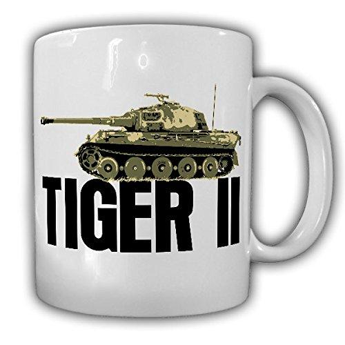 Tiger 2 Panzer Königstiger Wh Wk Ardennen Offensive Panzerkampfwagen Modell - Kaffee Becher Tasse Cup Mug #18529