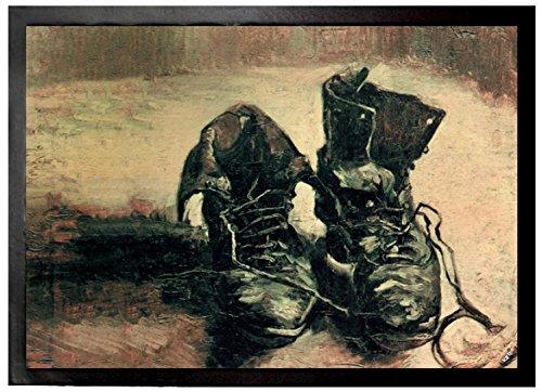 Vincent Van Gogh - Naturaleza Muerta Par De Zapatos, 1886 Felpudo Alfo
