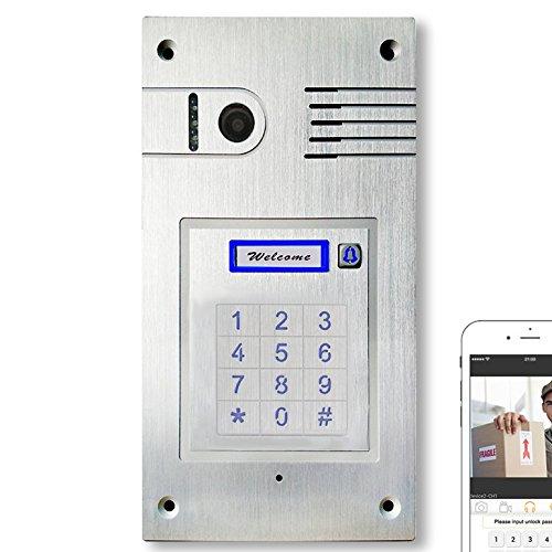Türsprechanlage mit WLAN Gegensprechanlage Türklingel Iphone Android Unterputz