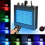 Strobe Lights SOLMORE 25W Disco Lights 108 LEDs RGB Stage Lights Automatic/Music Activated