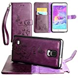 Best Matching Cases For Galaxy Note 4s - CellularOutfitter Samsung Galaxy Note 4 Leather Wallet Case Review