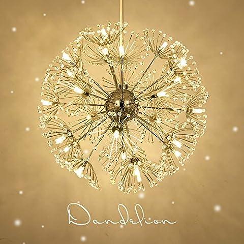 LYXG Creative lampadari di cristallo minimalista sfera di luce LED