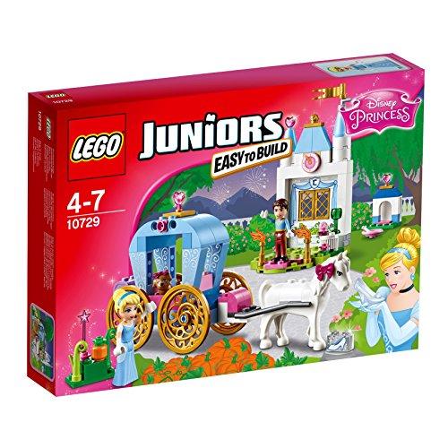 LEGO Juniors 10729 - Cinderellas Märchenkutsche, Spielzeug für vier Jährige (Beliebtes Spielzeug Für Mädchen)