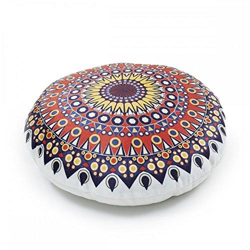 Mandala Stuhlkissen Matratzenkissen Bodenkissen Sitzkissen Auflage 38Ø 7cm Dicke, Design - Motiv:Design 5