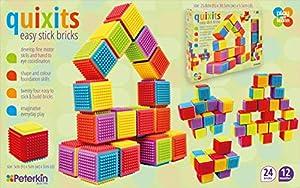 Peterkin 70164 - Ladrillos fáciles de Pegar, Multicolor