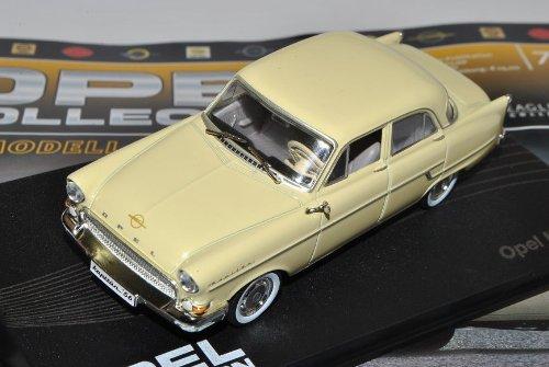 Opel Kapitän Limousine Beige 1955-1958 Inkl Zeitschrift Nr 70 1/43 Ixo Modell Auto -