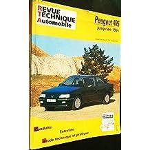 RRTA0726.2 REVUE TECHNIQUE AUTOMOBILE PEUGEOT 405 Essence (sauf 1.4l) et Diesel jusqu'en 1995