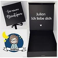 personalisierte Geschenkbox für euren Bräutigam, Trauzeugen, Brautvater