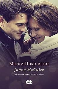 Maravilloso error par Jamie McGuire