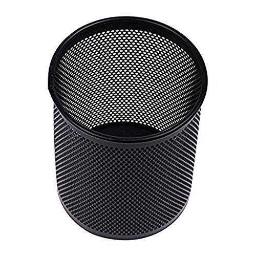scrox-Stiftehalter aus Metall schwarz Netting Schreibwaren Aufbewahrungsbox Büro de Finition Desktop -