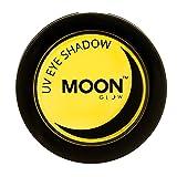 Moon Glow - UV Neon-UV-Lidschatten 3.5g Gelb – ein spektakulär glühender Effekt bei UV- und Schwarzlicht!