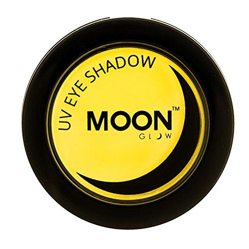Moon Glow - UV Neon-UV-Lidschatten 3.5g Gelb – ein spektakulär glühender Effekt bei UV- und...