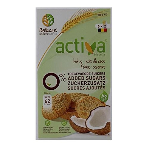 Sucre Activa Les Cookies De Noix De Coco Libre 150G