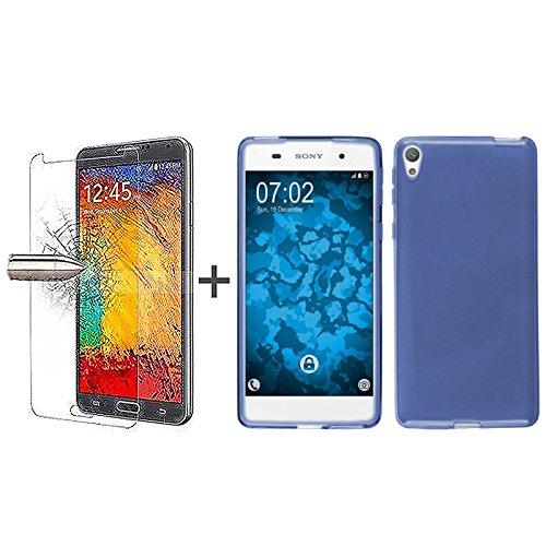 tboc-pack-custodia-gel-tpu-blu-pellicola-protettiva-per-display-in-vetro-temperato-per-sony-xperia-e