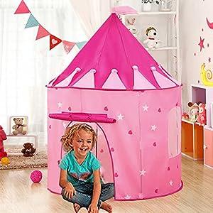 juegos infantiles: Carpa plegable, WER tienda campaña infantil para niños/ casa de juego en forma d...