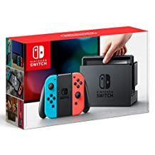 Nintendo Switch with Neon Blue and Neon Red Joy‑Con Console - 32GB (Nintendo Switch)