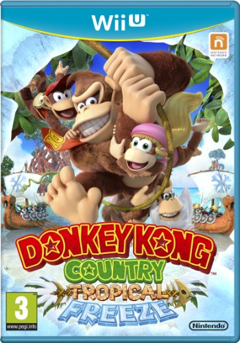 Donkey Kong Country: Tropical Freeze - Nintendo Wii U, Standard Edition
