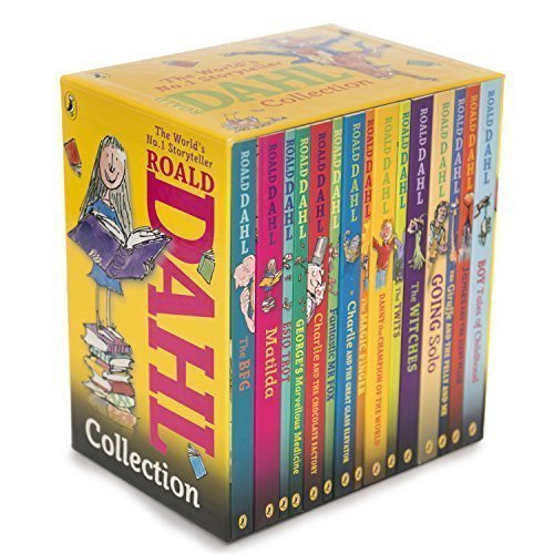 Roald Dahl Phizz Whizzing Collection 15 copy new look (Yellow)