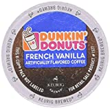 Dunkin Donuts French Vanilla K-cup 12 Count/box
