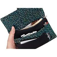 Tabakbeutel Drehertasche mit Fächern für Filter, Papier und Feuerzeug - Tabaktasche aus Stoff