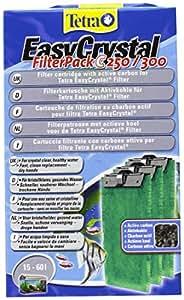 Tetra Easycrystal Filterpack C/Carbone - Confezione da 3 pezzi da 135 gr