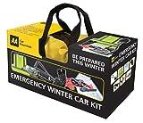AA kit de coche de invierno de emergencia integral en bolsa de lona con cremallera