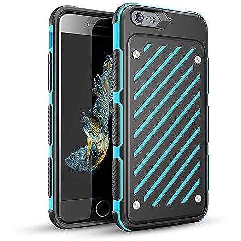 AIYIBEN Ultra sottile flessibile iPhone 6/6s [PC + TPU] caso