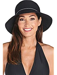 0541d55a10905 Coolibar UPF 50+ Women s Ribbon Bucket Hat - Sun Protective