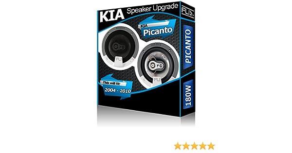 Porte arri/ère pour KIA Picanto Haut-parleurs Pioneer 13,3/cm 13/cm Haut-Parleur de Voiture Kit de 210/W