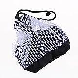 Broadroot Golfball borsa in nylon tennis Ball mesh bag Nets borsa porta palline della porta chiusura