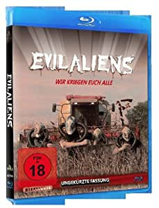 Evil Aliens: Special Edition (Blu-Ray + Dvd) [Import allemand]
