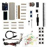 Kit di apprendimento kit di avviamento kit fai da te professionale adatto per Arduino-Uno Rev.3ATmega328 adatto per gli appassionati Learner
