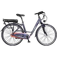 Rymebikes Avenue Bicicleta de Paseo Eléctrica, Unisex Adulto, Gris, ...