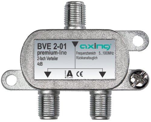 Axing BVE 2-01 2-fach BK-Verteiler mit abnehmbarem Montagesockel