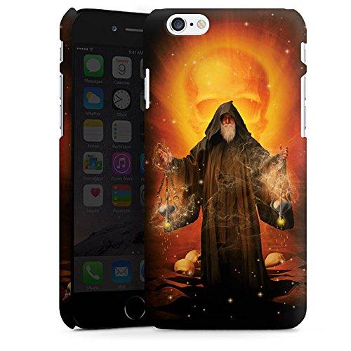 Apple iPhone X Silikon Hülle Case Schutzhülle Zauberer Magie Mystik Premium Case matt
