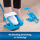 Sock Slider,Easy On/Easy Off Sock Aid Kit Helper Slider Without Bending,Strenching and Straining for Convenient Travel