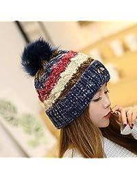FRGVSXZCX Moda Cappelli Cappello di Lana Donna Autunno Inverno Cappello  Creativo Ape Lavorato a Maglia Capelli f5f8b89d75f3