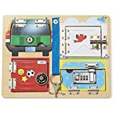 Melissa & Doug 19540 Lock and Latch Board