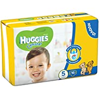 Huggies Unistar, 16 couches, Taille 5 (11 – 19 kg)