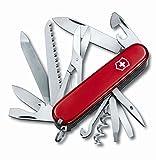 Victorinox Taschenmesser Ranger (21 Funktionen, Metallsäge, Holzmeissel) rot