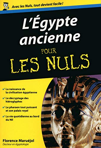 Egypte ancienne Poche Pour les nuls