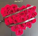 Rosas naturales + tarjeta,Envío URGENTE