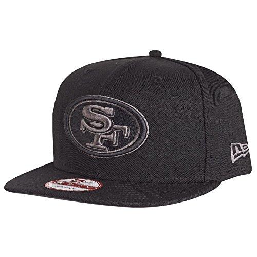 New Era 9Fifty Snapback Cap - San Francisco 49ers schwarz (New Era Hut-sf)