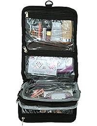 Kuber Industries Black Toiletry Bag (KI12355)