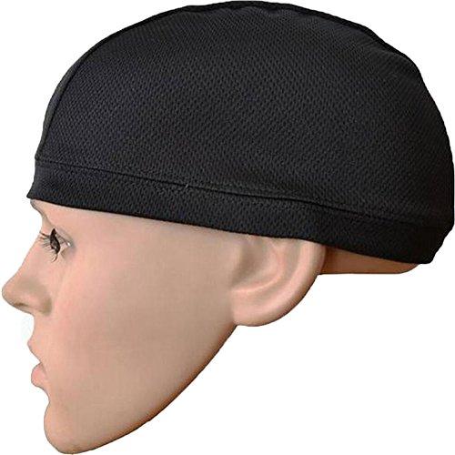 Da Jia Inc Helmet Liner Sports Skull Cap - schnelltrocknend Helm-Mütze Universal Kappe für Sommer Best für Fahrrad, Motorrad, Wandern, Laufen, Snowboarden, Skifahren und Andere Outdoor-Aktivitäten -L (Skull Cap White)