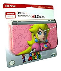 PDP CLIP Armor Super Mario : Peach Element de Design Console compatible Nintendo Nouvelle 3DS XL