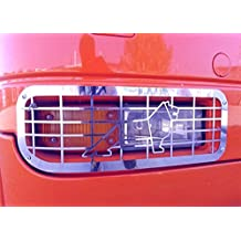 2 x exclusivo acero inoxidable Luz Antiniebla Delantera Protectores decoraciones para Man TGA TGX camiones