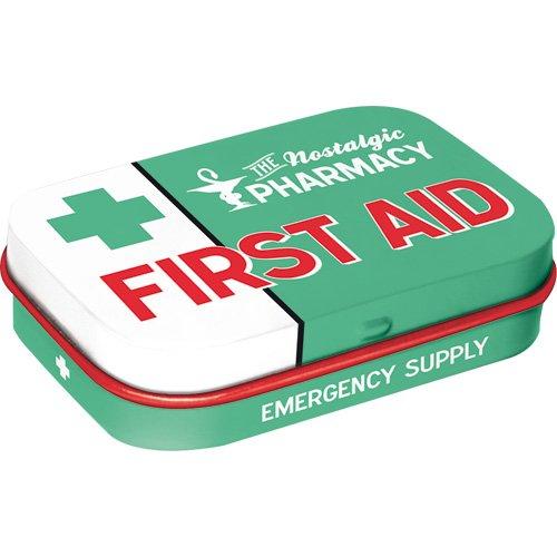 Nostalgic-Art 81332 Pillendose First Aid Green (Home-aids)